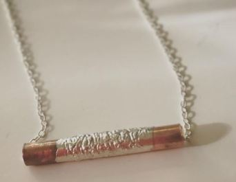 silver wrapped copper